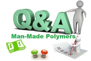 What are man mande polymers