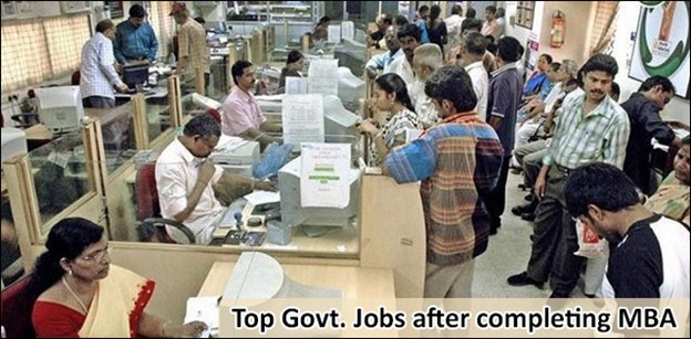Top 5 Government Jobs/PSU Jobs after doing your MBA
