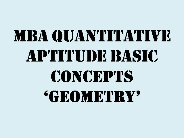 MBA-Geometry-Exercise