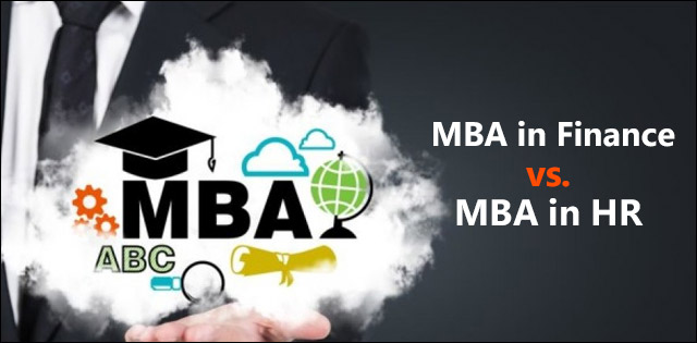 MBA in Finance vs MBA in HR: Which one has a better scope