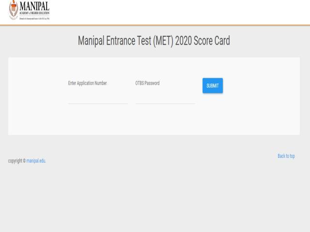 MET Scorecard 2020
