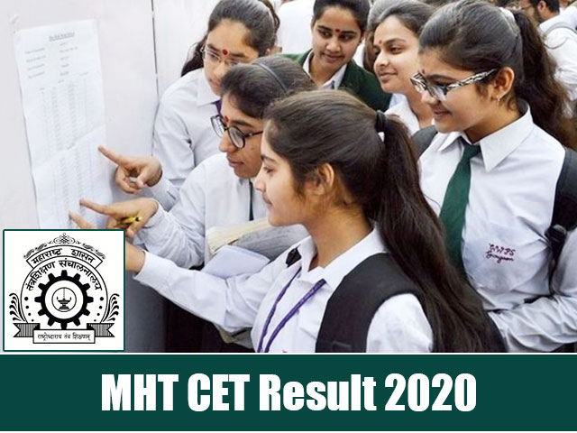 MHT-CET Results 2020