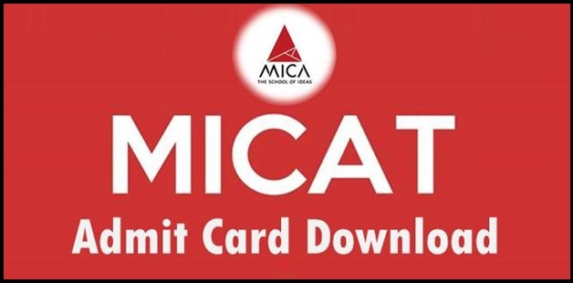 MICAT Exam: Admit Card