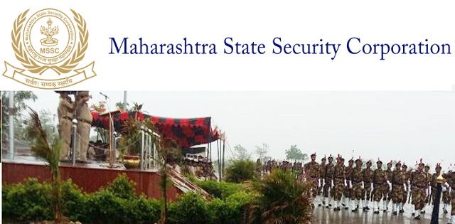 Maharashtra State Security Corporation Jobs