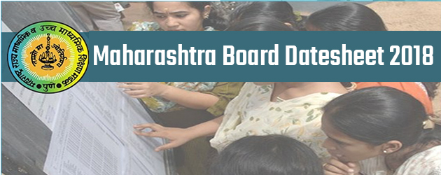 MSBSHSE Class 10th Exam Date Sheet 2018 Released