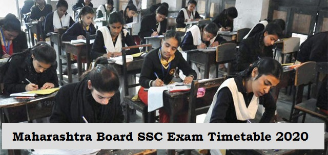 Maharashtra SSC Board Exam 2020 Timetable Released: Check complete schedule