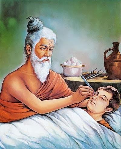 What did Mahirshi Sushrut invented
