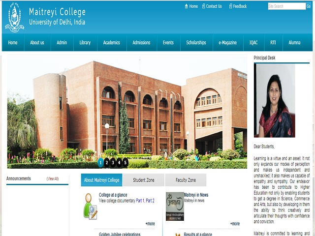 Maitreyi College Professional Assistant (University of Delhi) Posts 2020