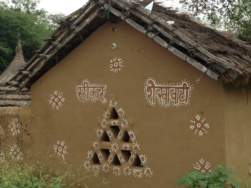 Mandana Rangoli Rajasthan