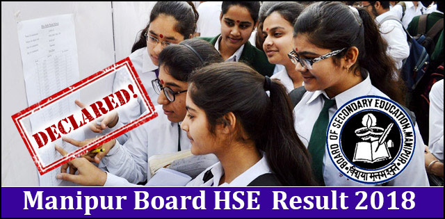 Manipur Higher Secondary Exam (HSE) Result  2018 will be declared today by COHSEM @ manresults.nic.in