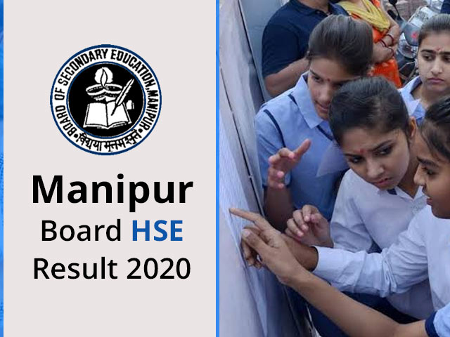 Manipur Board HSE (12th) Result 2020