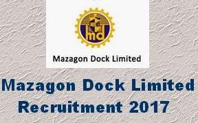 Mazagon recruitment 2017