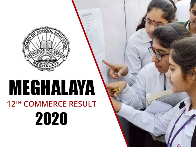 Meghalaya Board HSSLC (12th) Commerce Result 2020