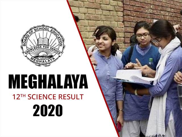 Meghalaya Board HSSLC (12th) Science Result 2020