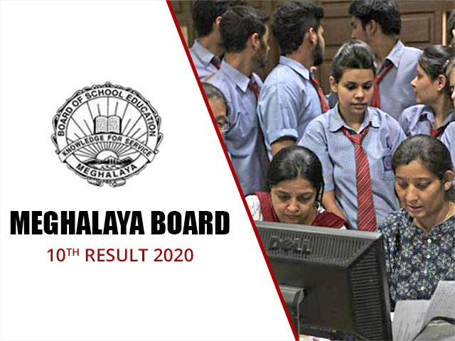 Meghalaya Board SSLC (10th) Result 2020