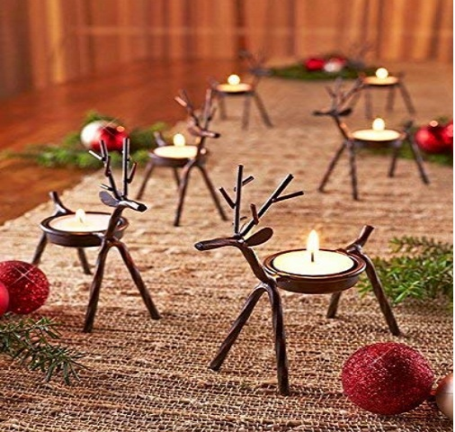 Reindeer Shaped tealight holder