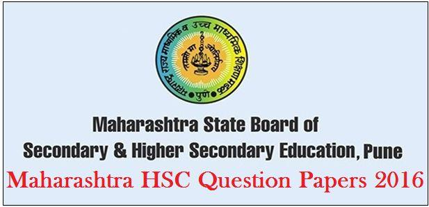 Maharashtra Board HSC Question Papers 2016