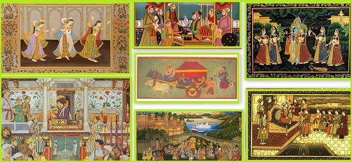 How Indian Art of Miniature Painting evolved? HN
