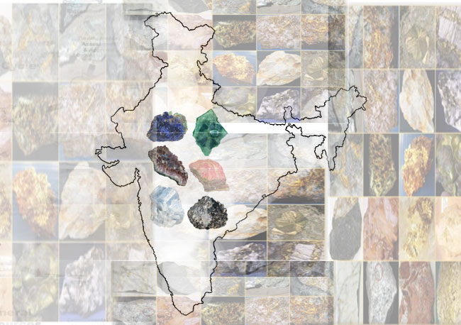 List of Mineral Belts in India