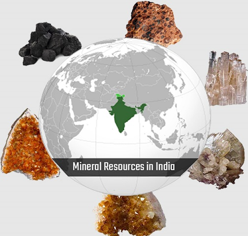 GK Question and Answers on Mineral Resources in India