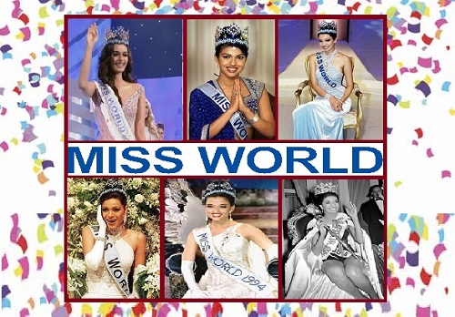 List of Miss World from India: Till 2019