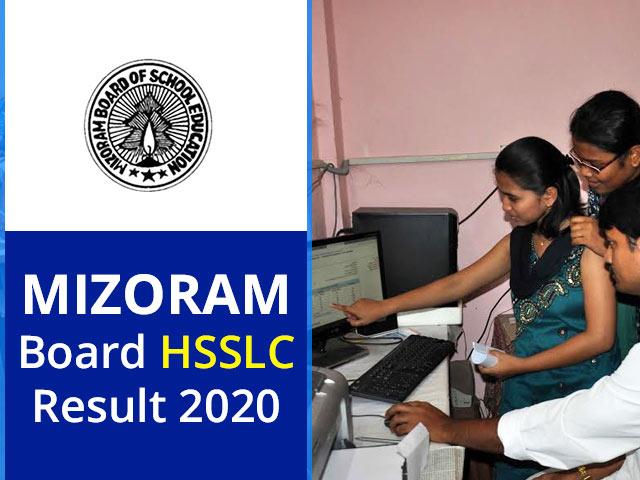 Mizoram Board HSSLC Result 2020