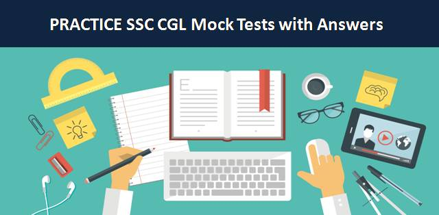 SSC CGL 2018-19 Mock Test Papers with Answers | SSC CGL Tier