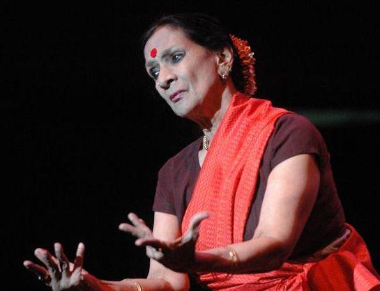 Mrinalini Sarabhai famous classical dancer