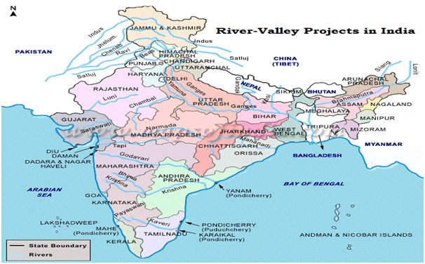 Worksheet. MULTIPURPOSE RIVERVALLEY PROJECTS IN INDIA