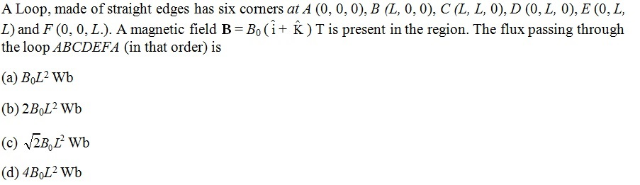 NCERT Exemplar Solutions for Class 12 Physics - Chapter 6: Electromagnetic Induction (Question 6.2)