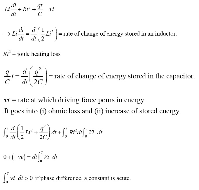 NCERT Exemplar Solutions for Class 12 Physics - Chapter 7: Alternating Current (LA) - A 7.30