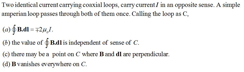 NCERT Exemplar Solutions for CBSE Class 12 Physics ‒ Chapter 4: Moving Charges & Magnetism, Question 4.9