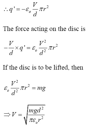 NCERT Exemplar Solutions for CBSE Class 12 Physics - Chapter 2: Answer of question number 2.27