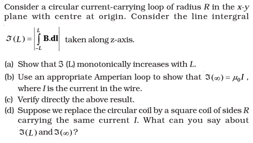 NCERT Exemplar Solutions for CBSE Class 12 Physics ‒ Chapter 4: Moving Charges & Magnetism (Question 4.27)