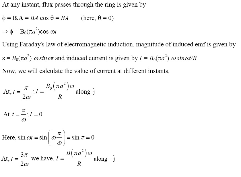 NCERT Exemplar Solutions for Class 12 Physics - Chapter 6: Electromagnetic Induction (Solution 6.17)