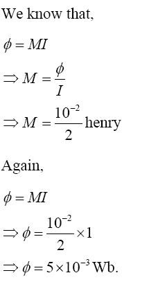 NCERT Exemplar Solutions for Class 12 Physics - Chapter 6: Electromagnetic Induction (Solution 6.21)