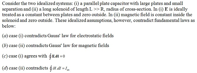 NCERT Exemplar Solutions for CBSE Class 12 Physics ‒ Chapter 5: Magnetism and Matter (MCQ I, Q 5.4)