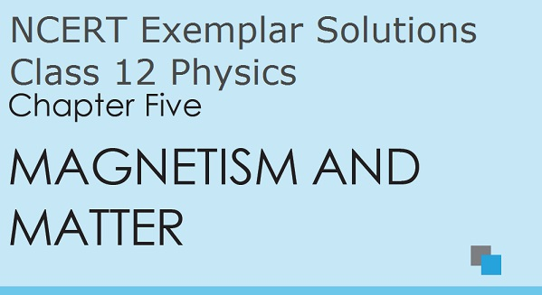 NCERT Exemplar Solutions for Class 12 Physics