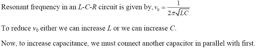 NCERT Exemplar Solutions for Class 12 Physics - Chapter 7: Alternating Current (Solution 7.4)