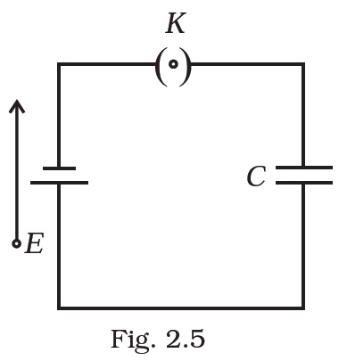 NCERT Exemplar Solution for CBSE Class 12 Physics, Chapter 2: Electrostatic Potential & Capacitance, Question 2.13, Figure - 2.5