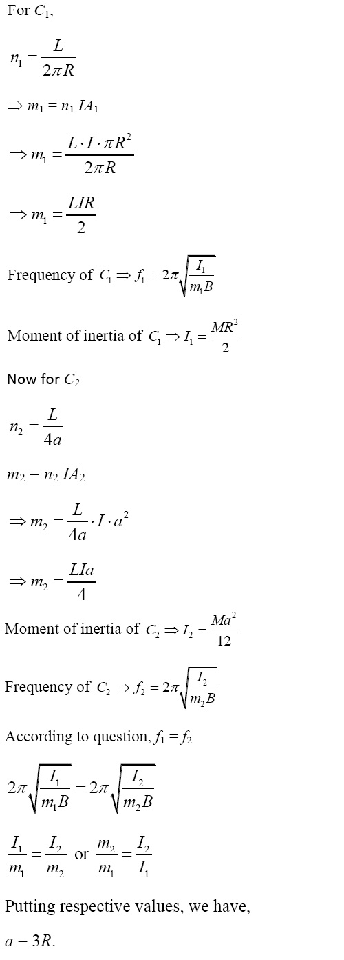 NCERT Exemplar Solutions for CBSE Class 12 Physics ‒ Chapter 5: Magnetism and Matter (Solution 5.25)