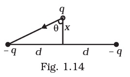 NCERT Exemplar Solutions 12th Physics Chapter 1 Question 1.30 (Figure)