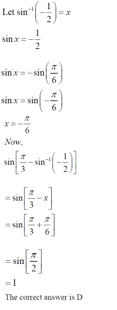 NCERT Solutions for CBSE Class 12 Mathematics ‒ Chapter 2: Inverse Trigonometric Functions (Exercise 2.2, Solution: 20)