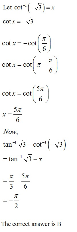 NCERT Solutions for CBSE Class 12 Mathematics ‒ Chapter 2: Inverse Trigonometric Functions (Exercise 2.2, Solution: 21)