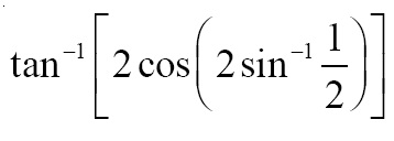 NCERT Solutions for CBSE Class 12 Mathematics ‒ Chapter 2: Inverse Trigonometric Functions (Exercise 2.2), Question 11