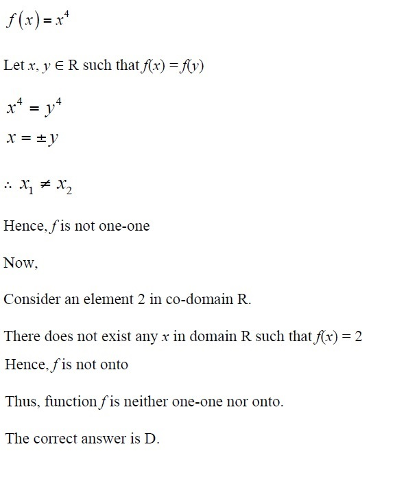 NCERT Solutions for CBSE Class 12th Maths, Chapter 1: Relations and Functions, Exercise 1.2, Solution No. 11