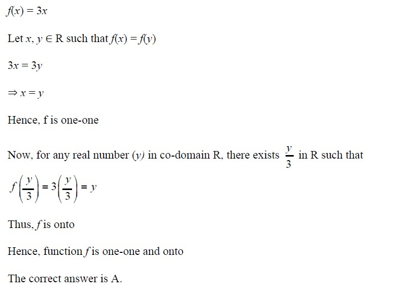 NCERT Solutions for CBSE Class 12th Maths, Chapter 1: Relations and Functions, Exercise 1.2, Solution No. 12