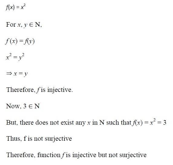 NCERT Solutions for CBSE Class 12th Maths, Chapter 1: Relations and Functions, Exercise 1.2, Solution No. 2 (i)