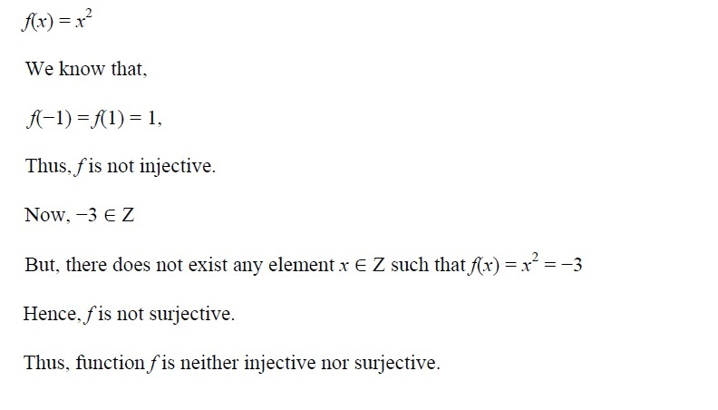NCERT Solutions for CBSE Class 12th Maths, Chapter 1: Relations and Functions, Exercise 1.2, Solution No. 2 (ii)