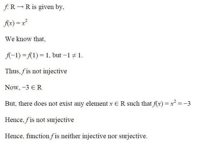 NCERT Solutions for CBSE Class 12th Maths, Chapter 1: Relations and Functions, Exercise 1.2, Solution No. 2 (iii)